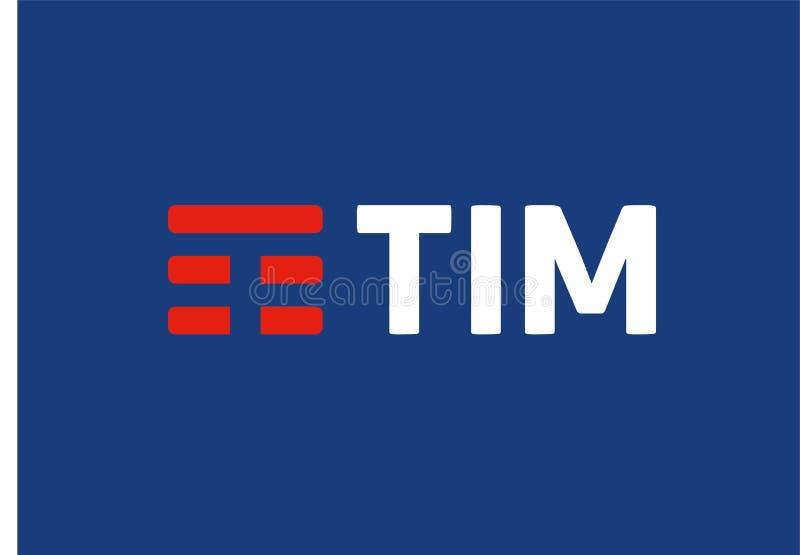 Altes Tim-Logo stock abbildung