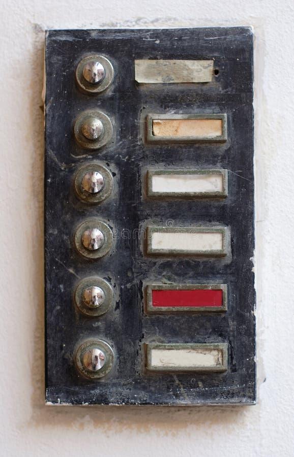 Altes Tonsignal lizenzfreie stockbilder