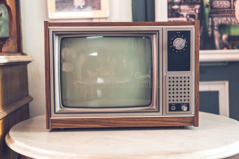 altes und antikes Fernsehen stockfotos