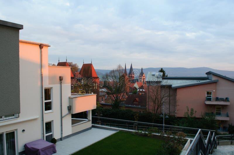 Download Altes Und Neues Teil Gelnhausen-Stadt-` S Stockfoto - Bild von transcendence, groß: 106803602