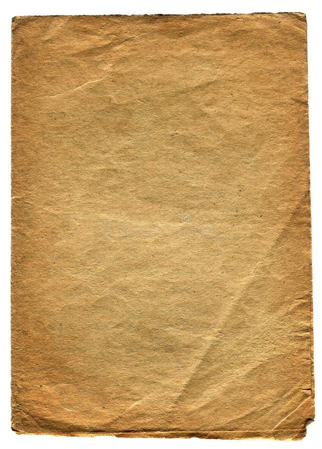 Weinlese-Papier lizenzfreie stockbilder
