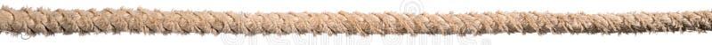 Altes verdrehtes Seil stockbilder