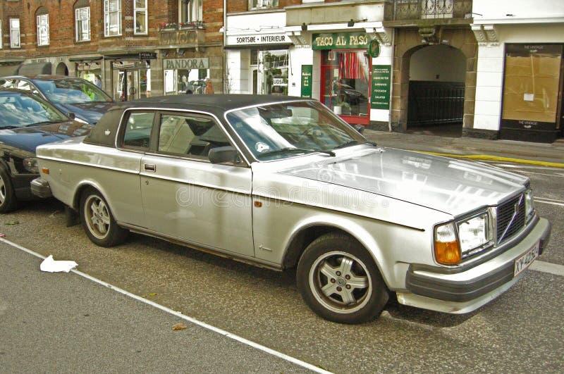 Altes Volvo parkte lizenzfreie stockfotos