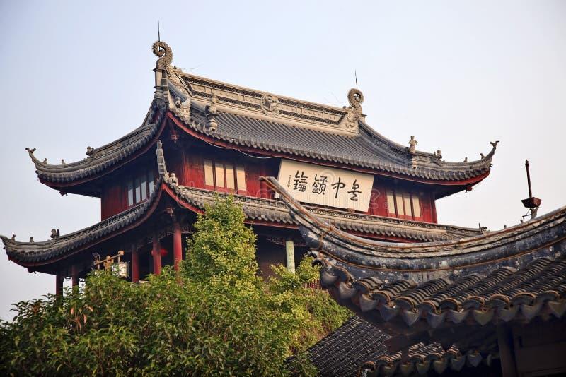 Altes Wannen-Mann-Wasser-Gatter Suzhou China lizenzfreies stockbild