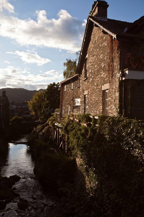 Altes watermill stockfoto