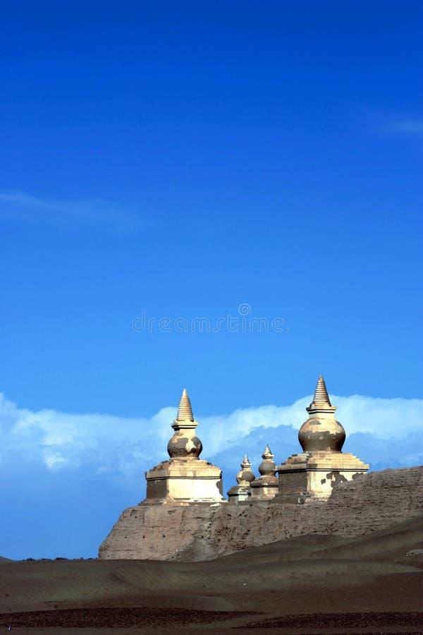 Altes weißes pogoda stockbild