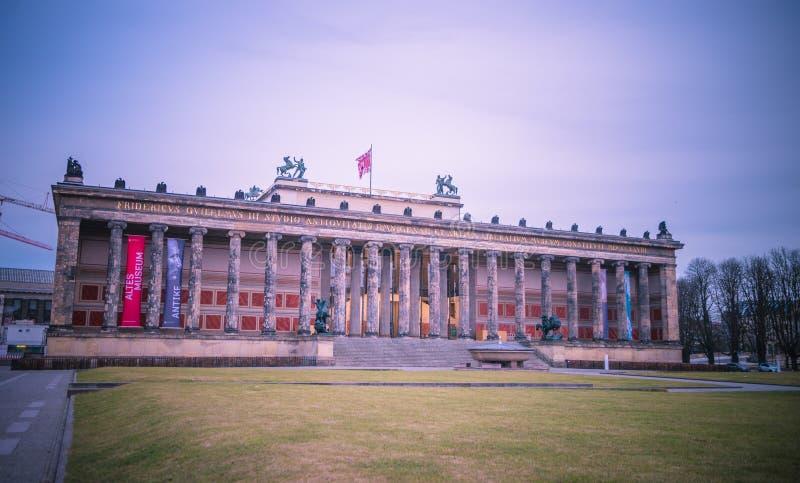 Altesmuseum, Berlijn, Duitsland royalty-vrije stock afbeelding