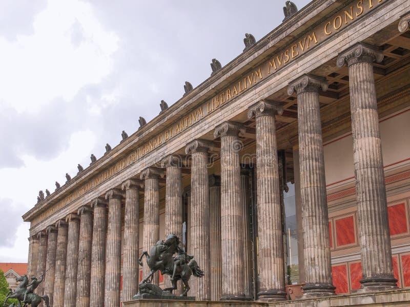 Altesmuseum Berlim fotos de stock royalty free