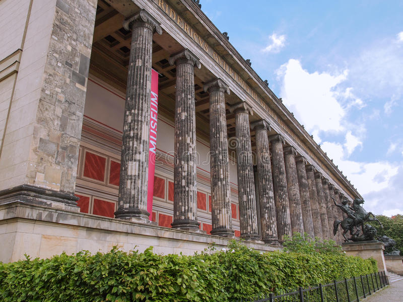 Altesmuseum Berlim imagens de stock