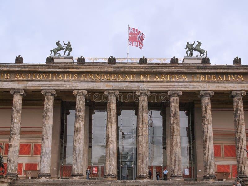 Altesmuseum Berlim fotografia de stock royalty free