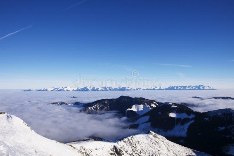 Altezza Tatras immagine stock