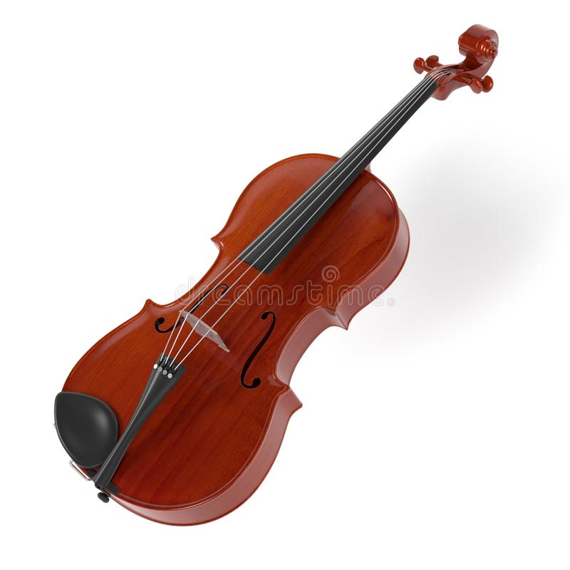 Altfiolmusikinstrument stock illustrationer