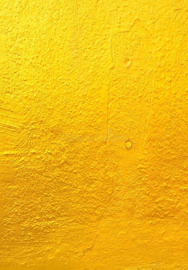 Altgold-Betonmauer lizenzfreie stockfotos