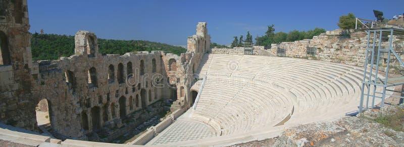 Altgriechisches Amphitheater lizenzfreie stockfotografie