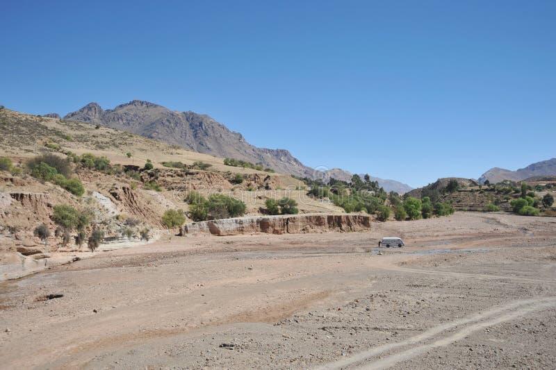 Altiplano è un vasto plateau nelle montagne delle Ande immagini stock libere da diritti