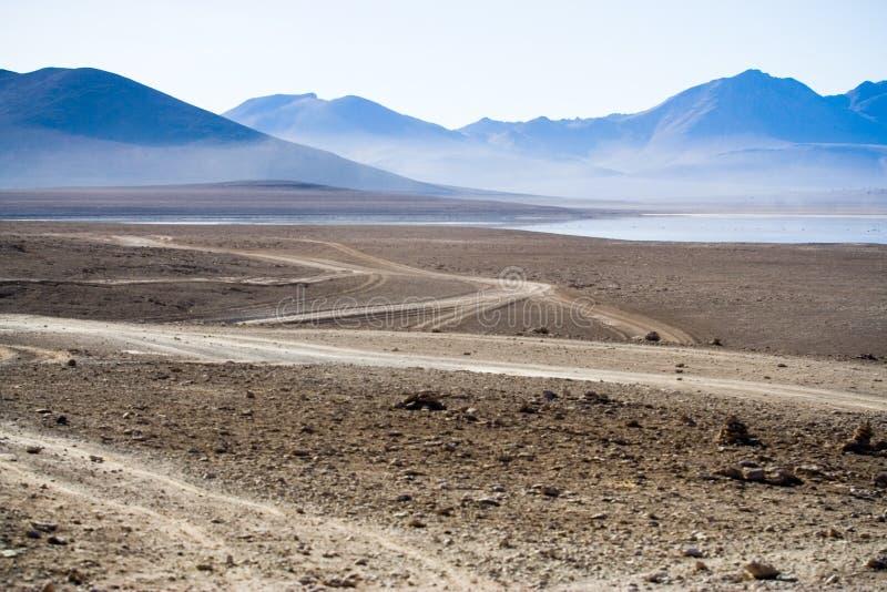 Altiplano, Bolívia imagens de stock