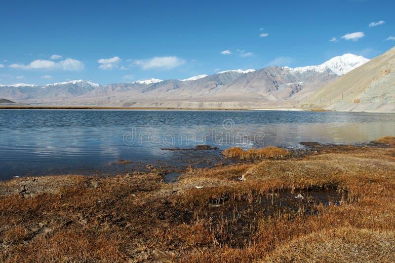 altiplano jeziora pamirs obrazy royalty free