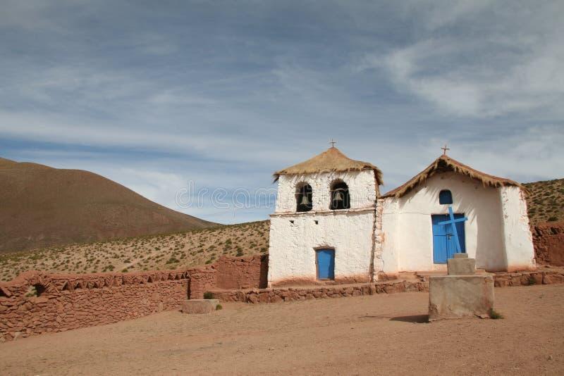 altiplano kościół zdjęcie stock