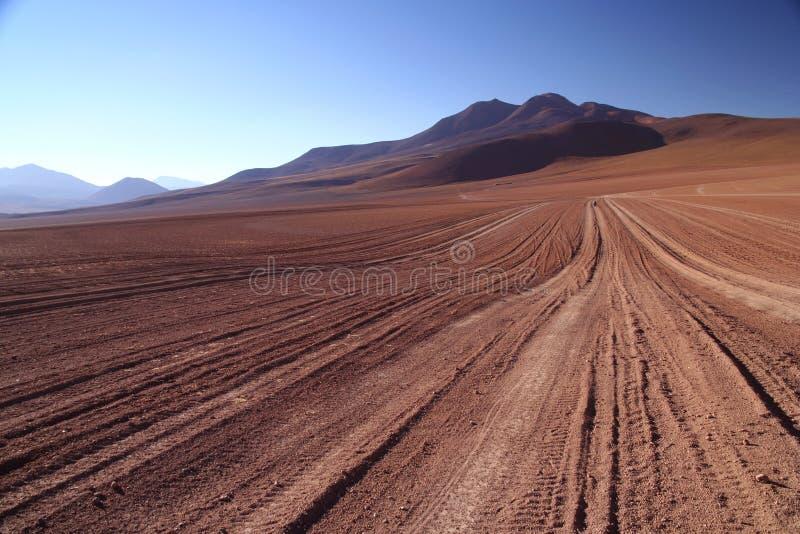 Altiplano Straße lizenzfreies stockfoto