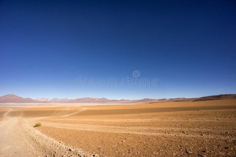 Altiplano Wüste Bolivien lizenzfreie stockfotos