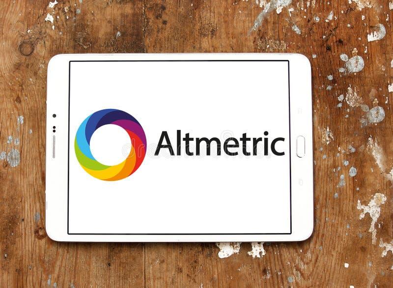 Altmetric firmy logo obraz royalty free