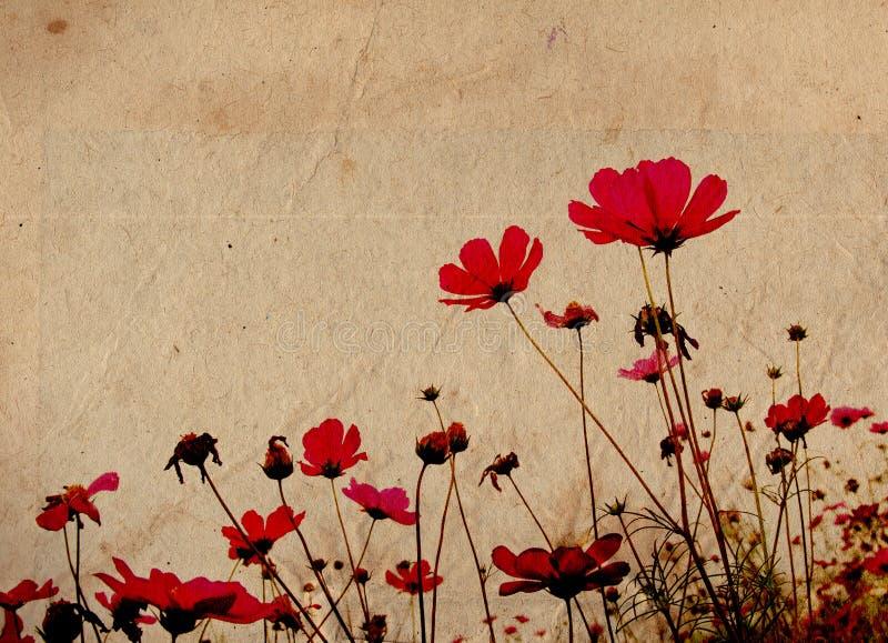 Altmodische Blume lizenzfreie abbildung