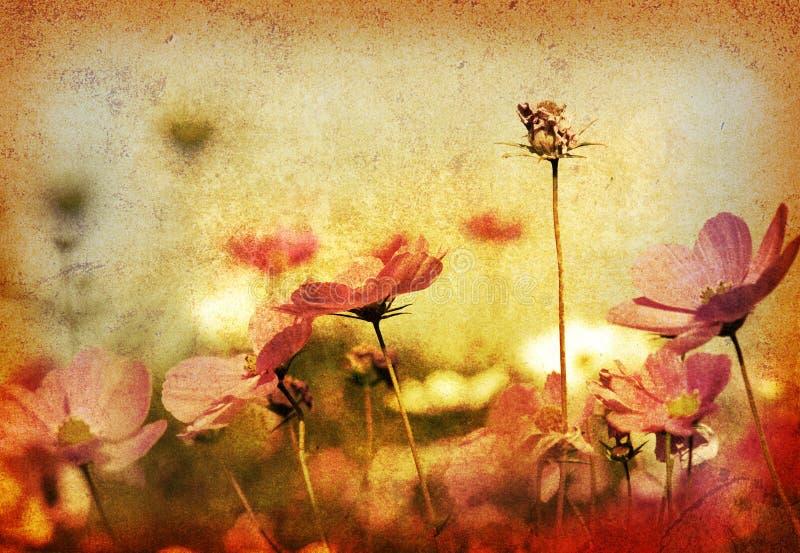 Altmodische Blume stockfoto
