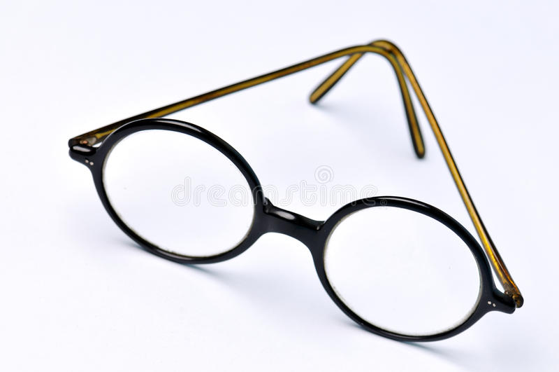 Altmodische Gläser stockfotografie