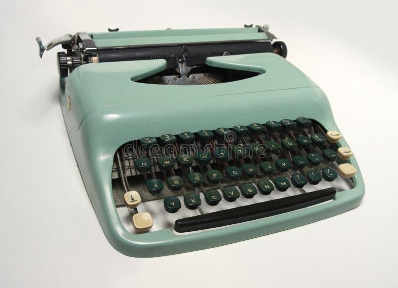 Altmodische Schreibmaschine lizenzfreie stockbilder