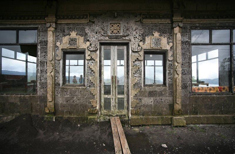 Altmodische Tür lizenzfreie stockfotos