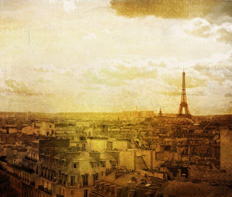 Altmodisches Paris lizenzfreies stockbild