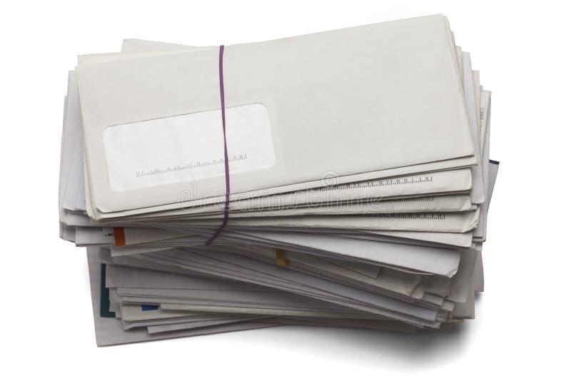 Pila de cuentas fotografía de archivo libre de regalías