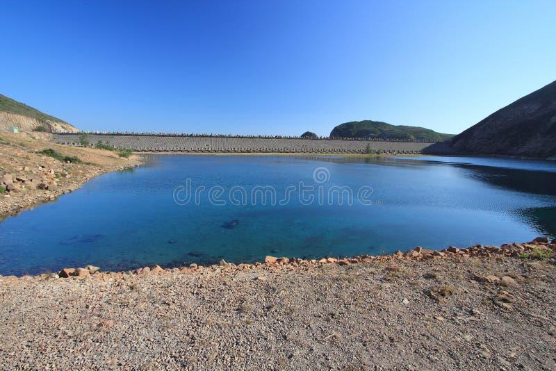 Alto bacino idrico dell'isola fotografia stock libera da diritti