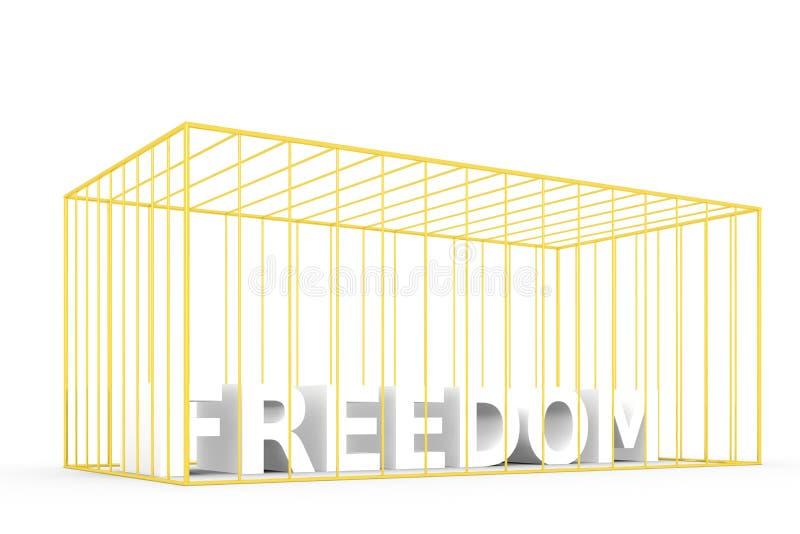 Alto bloccato di libertà royalty illustrazione gratis