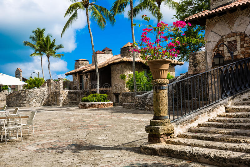 Alto de Chavon, República Dominicana fotos de stock