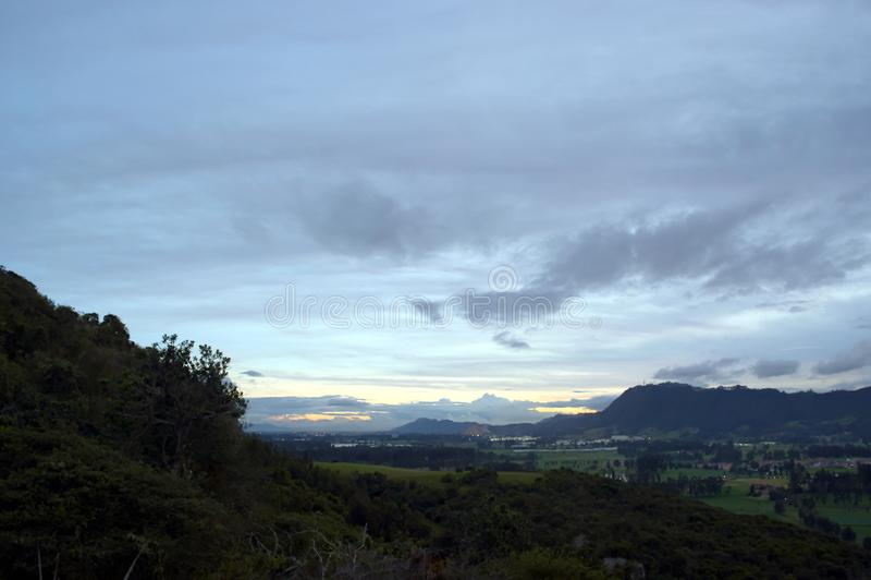 Download Alto De La Virgen - Barandillas Stock Foto - Afbeelding bestaande uit begin, zonsondergang: 107708878