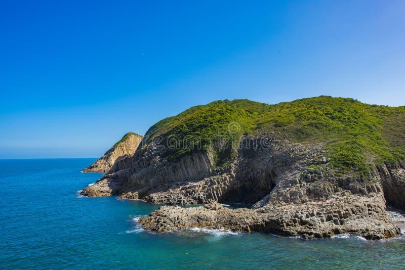 Alto depósito de la isla, Sai Kung, Hong Kong imagen de archivo libre de regalías
