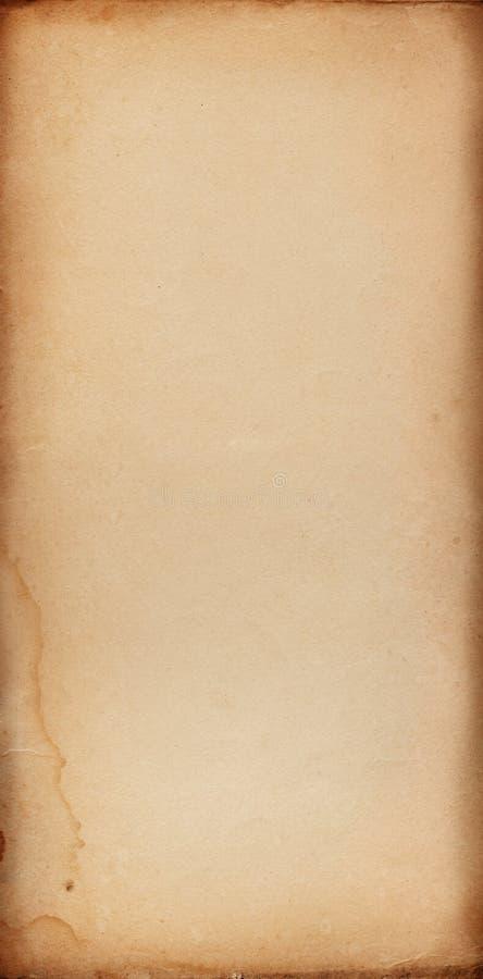 Alto documento fotografie stock libere da diritti