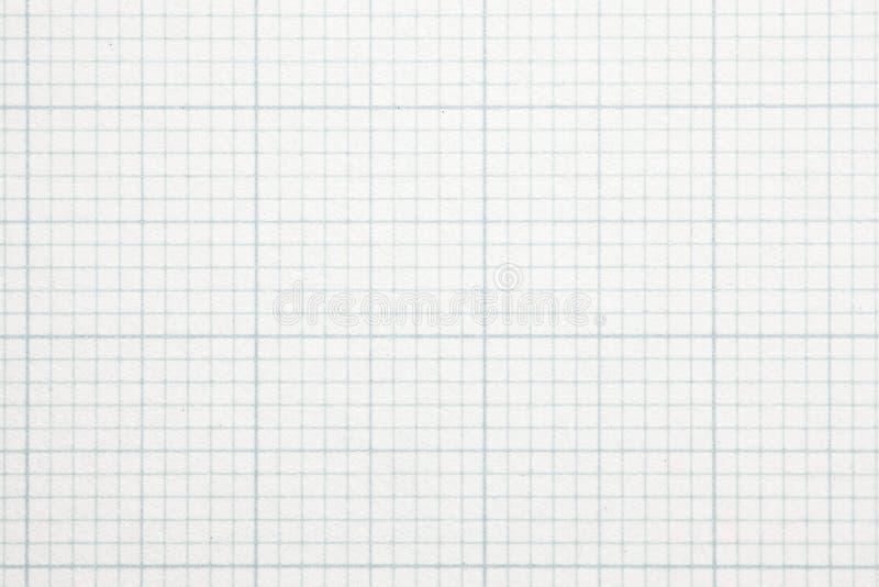 Alto documento della scala di griglia del grafico di ingrandimento. fotografia stock