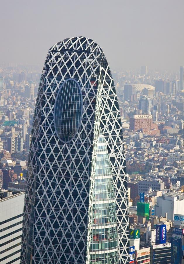 Alto edificio de la subida de Tokio fotos de archivo