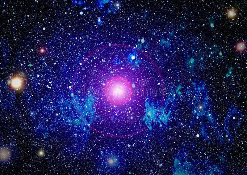 Alto fondo del campo de estrella de la definición Textura estrellada del fondo del espacio exterior Fondo estrellado colorido del foto de archivo