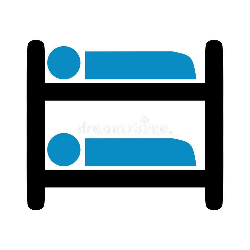 Alto icono del durmiente libre illustration
