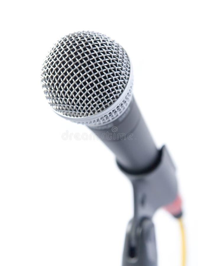 Alto micrófono profesional dominante imagen de archivo