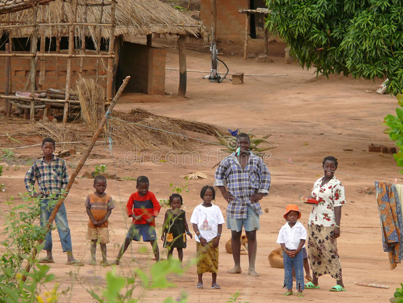 Download ALTO MOLOCUE, MOZAMBIQUE - 7 DECEMBER 2008: Most African Family, Editorial Image - Image: 39660340