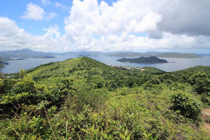 Alto picco del ciarpame a Hong Kong fotografia stock