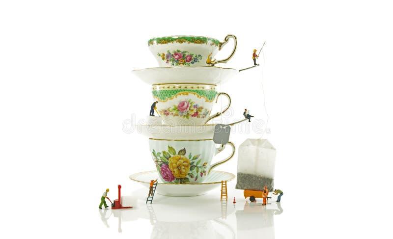 Alto tè fotografie stock