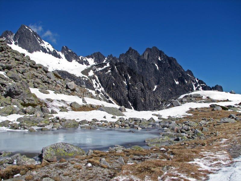 Alto Tatras imagen de archivo libre de regalías
