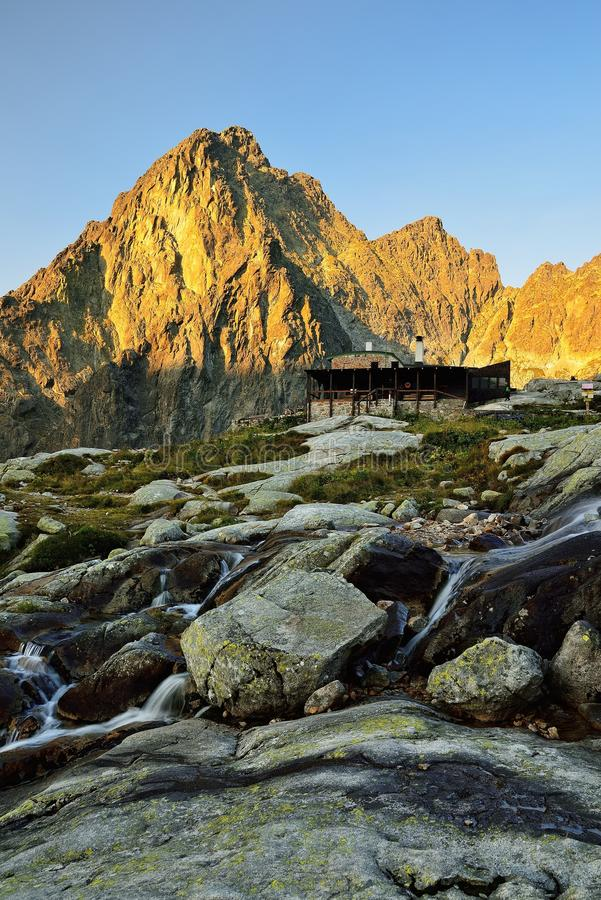 Alto Tatras en Eslovaquia imagen de archivo
