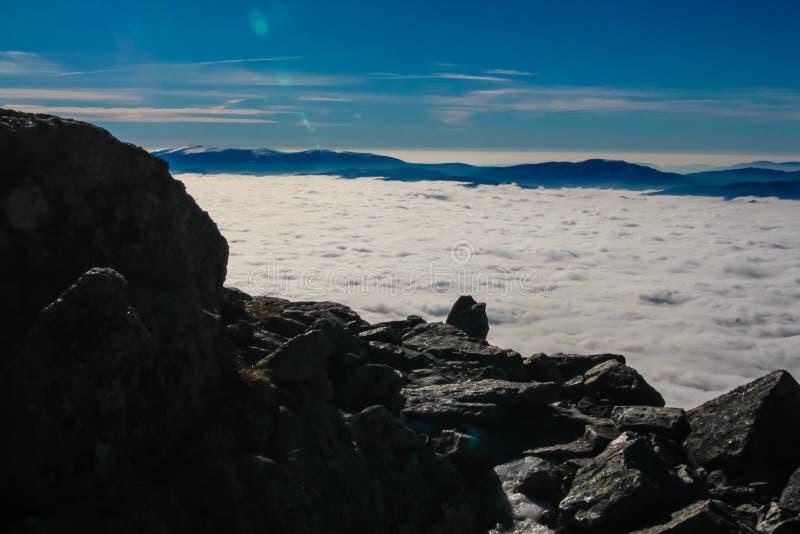 Alto tatry - percorso di Krivan fotografie stock