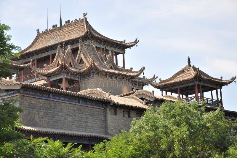Alto templo fotografía de archivo libre de regalías